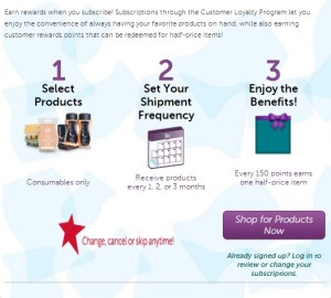 Scentsy Customer Loyalty Program