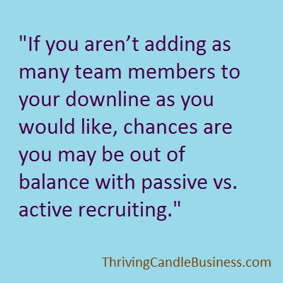active vs passive recruiting