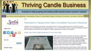 Thriving Candle Business