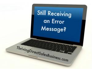computer error message