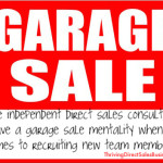 Garage Sale Recruiting