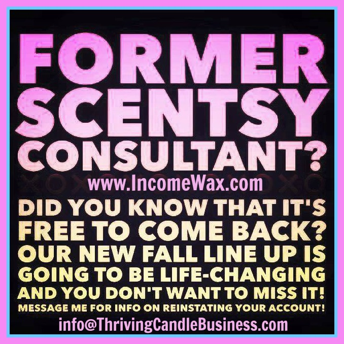 Rejoin Scentsy for Free