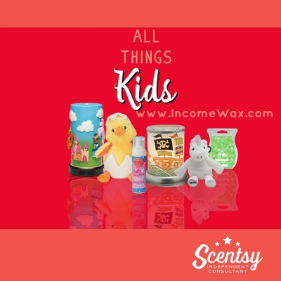 Scentsy kids warmers, scents and buddies