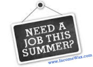 part time summer job