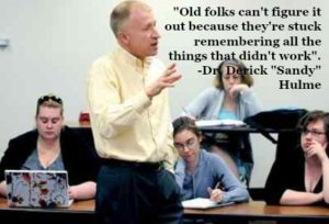 Dr. Derick Hulme Alma College