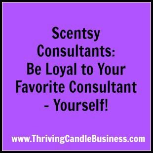 Scentsy consultants buying from each other