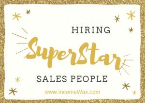hiring superstar sales people