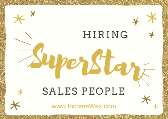 hiring superstar sales people