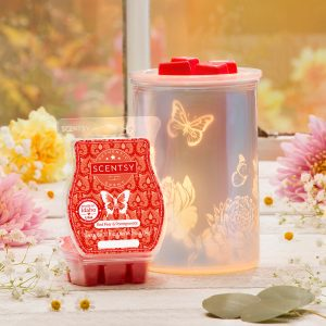 February Scentsy Spring Cast Pink
